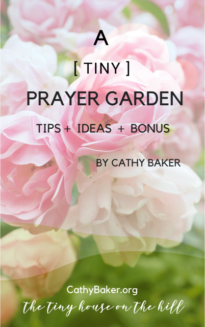 Tiny Prayer Garden