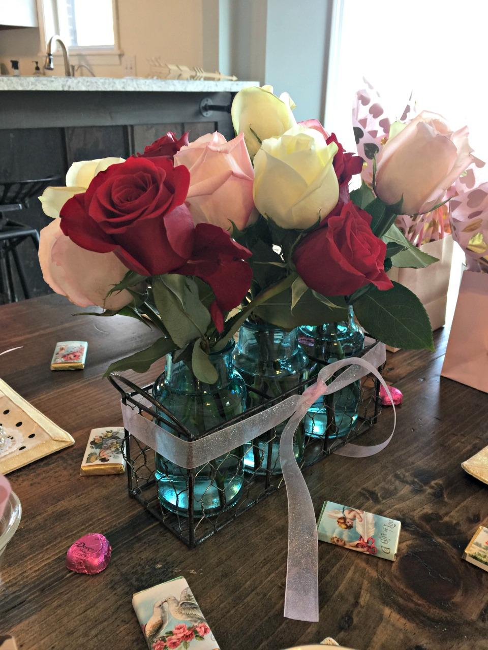 Valentine Tea Roses