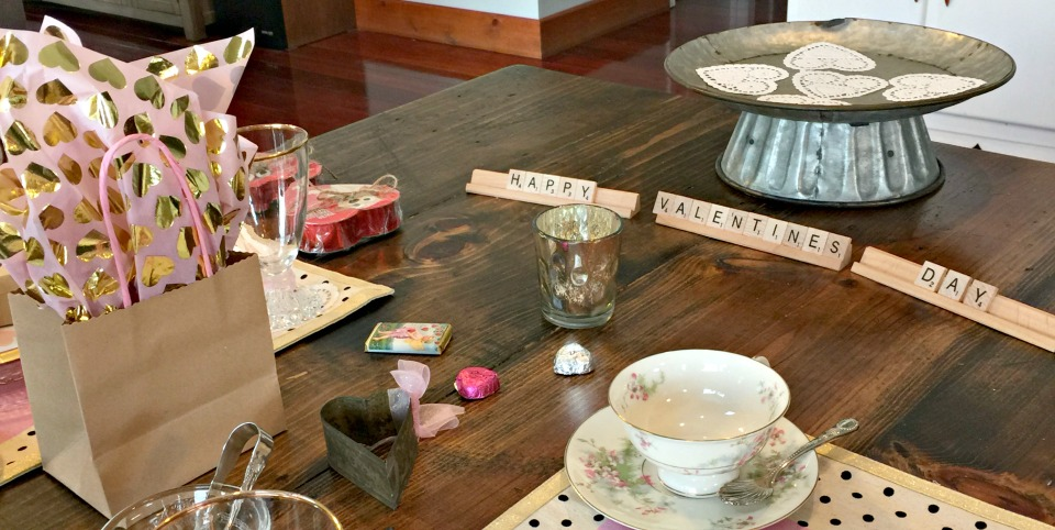 Valentine Tea Scrabble