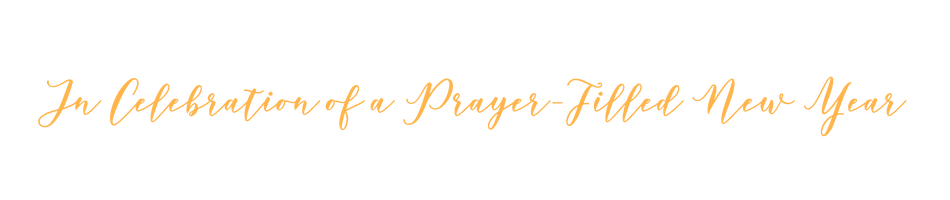 A Prayer Filled 2019