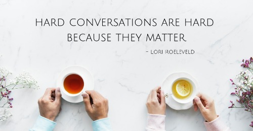 The First Hard Conversation + Autographed Giveaway by Lori Roeleveld