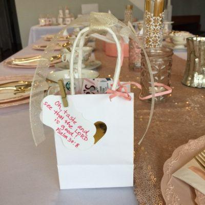 Valentine Tea Gift Bag