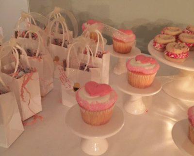 Valentine Tea Cupcakes