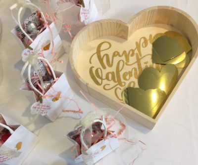 Valentine Tea Gold Hearts