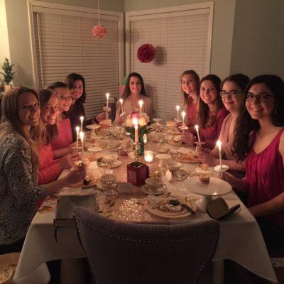Valentine Tea group