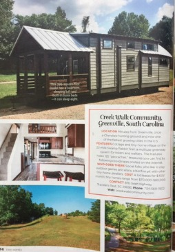 Tiny House Community in Greenville SC