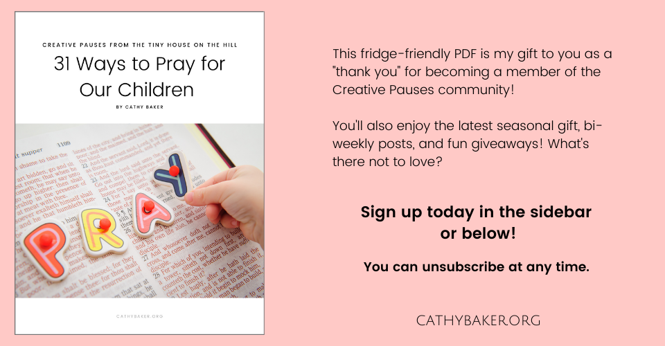 How to Pray for our Children